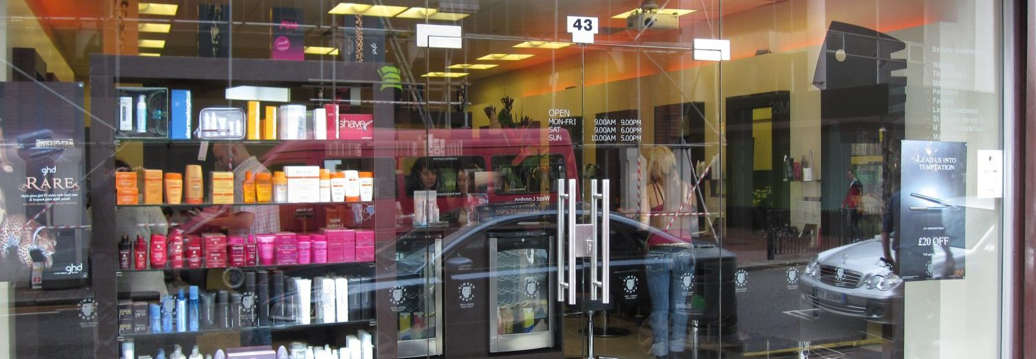Toughened Glass Shopfronts in London