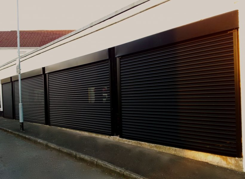 High Quality Perforated Roller Shutter