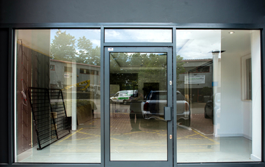 Roller Shutter In London Glazing Automatic Doors