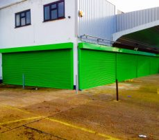 Greenmotion security roller shutters