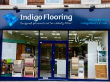indigo flooring finished
