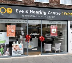 Aluminium Shopfront – Optician